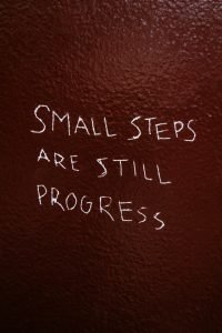 Make your personal growth routine stick with small steps